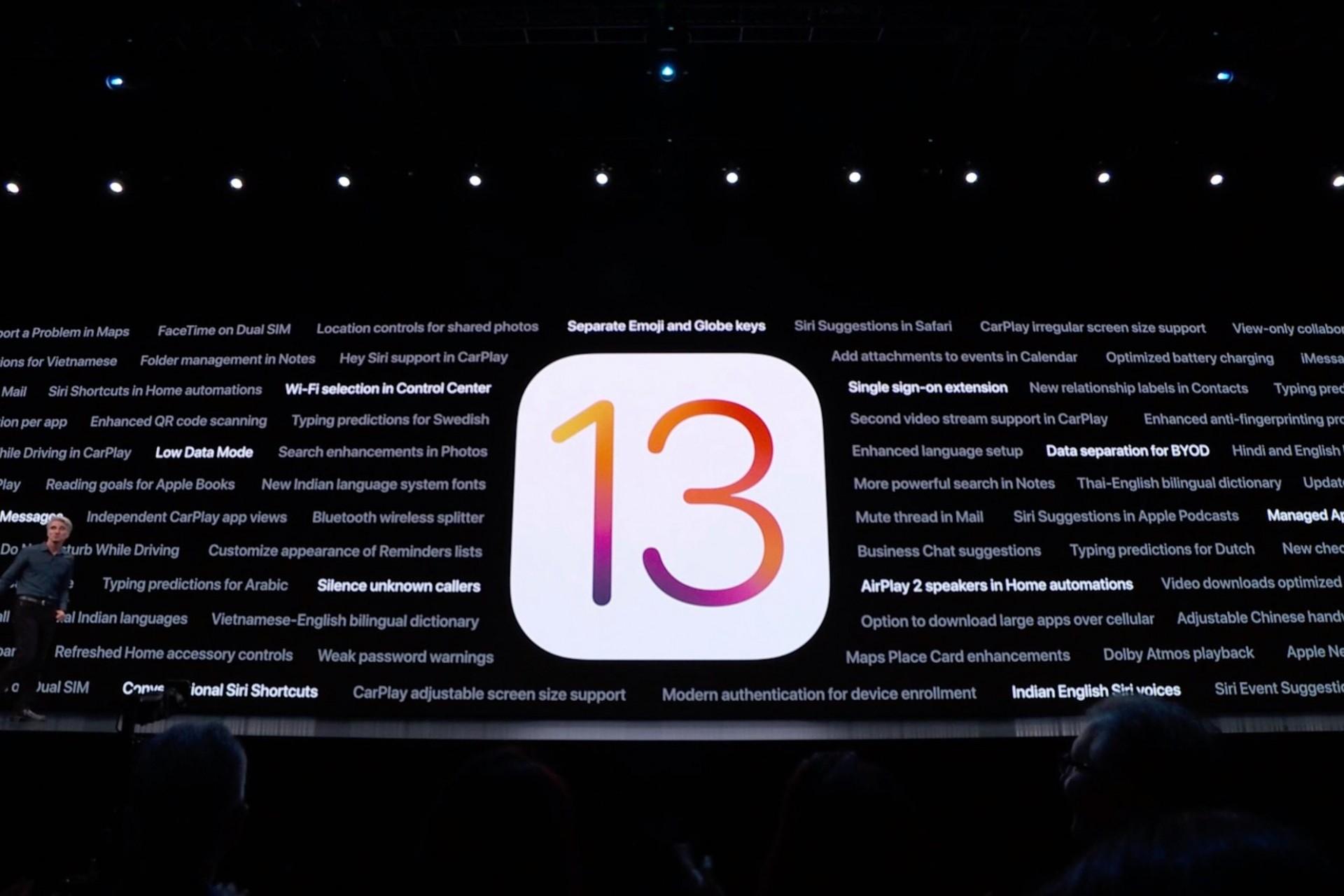 Ezeken a készülékeken lesz elérhető az iOS 13