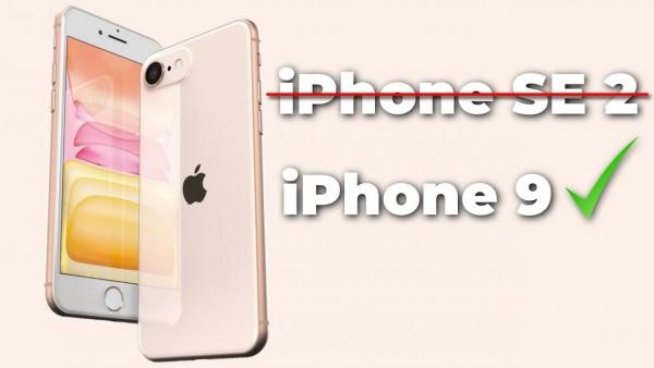 iPhone SE 2 = iPhone 9?