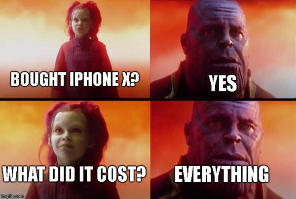Tudod miért nem használt Thanos iPhone-t?!